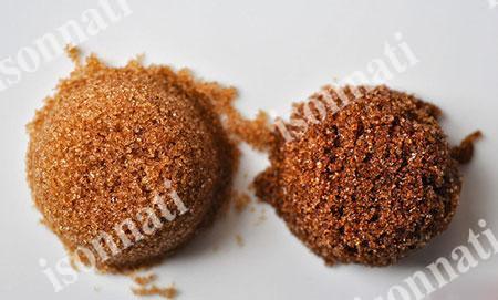 فرق شکر سرخ و قهوه ای در چیست؟