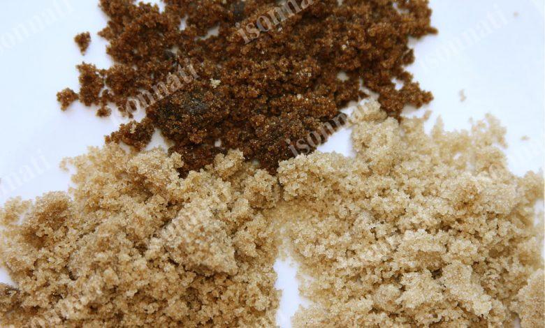 تشخیص شکر قهوه ای تقلبی