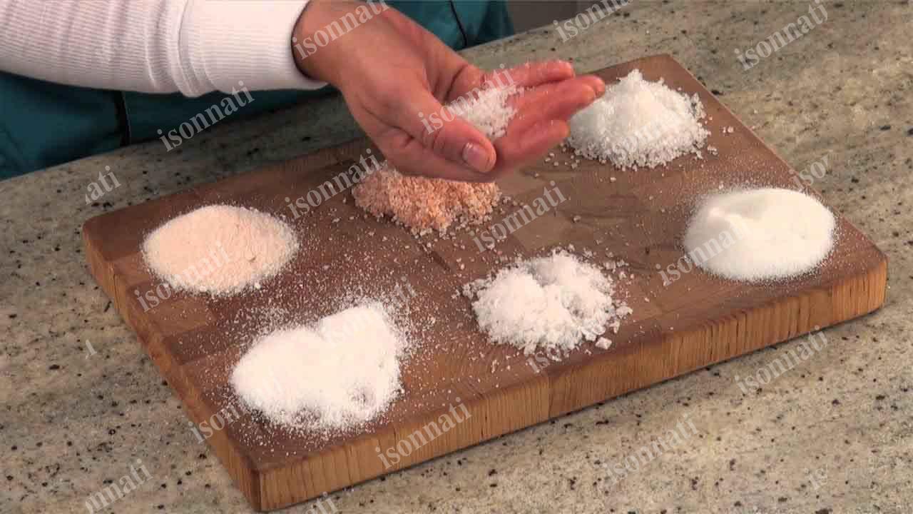 تفاوت های نمک طبیعی و صنعتی